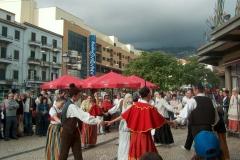 Animação no Funchal