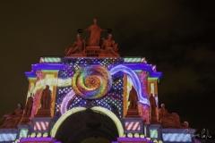 Arco da Rua Augusta - Projecções de Natal