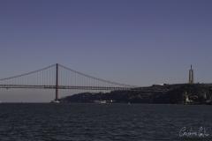 Passeio de barco á Trafaria - Ponte sobre o Tejo