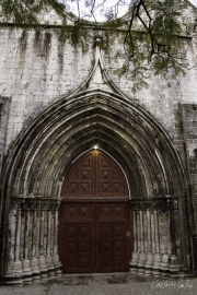 Porta do Convento do Carmo