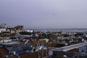 Vista sobre Lisboa - A Sé e o Tejo