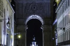 Rua Augusta e o Arco