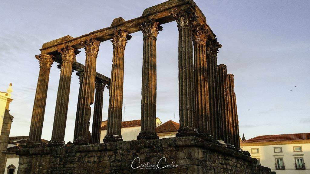 Évora - Templo Romano de Diana